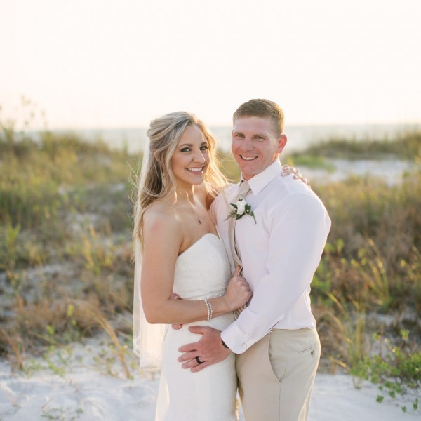 Ashley + Stephen Sneak Peek - Lido Beach Wedding