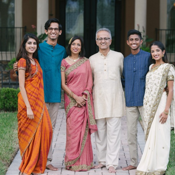 Saxena Family Traditional & Western Portaits