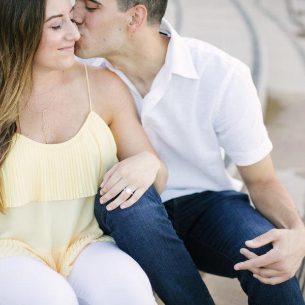 David's Proposal to Danielle