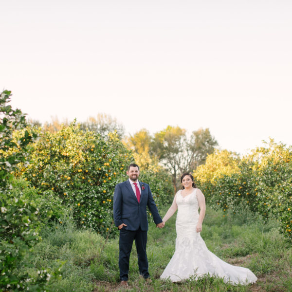 Kayla + Ben's Hometown Backyard Wedding